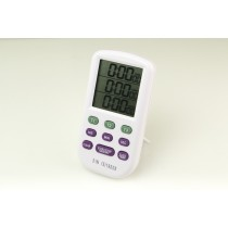 H-B DURAC 3-Channel Electronic Timer and Clock with Certificate of Calibration
