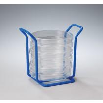 100mm Petri Dish Mini Rack - Poxygrid