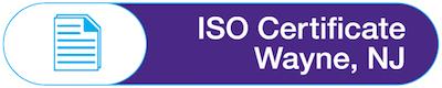 ISO Certification  Wayne NJ