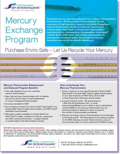 Image:  Mercury Exchange Program Details