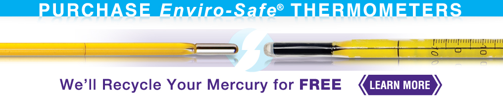 Image: We'll Recycle Your Mercury FREE - learn more